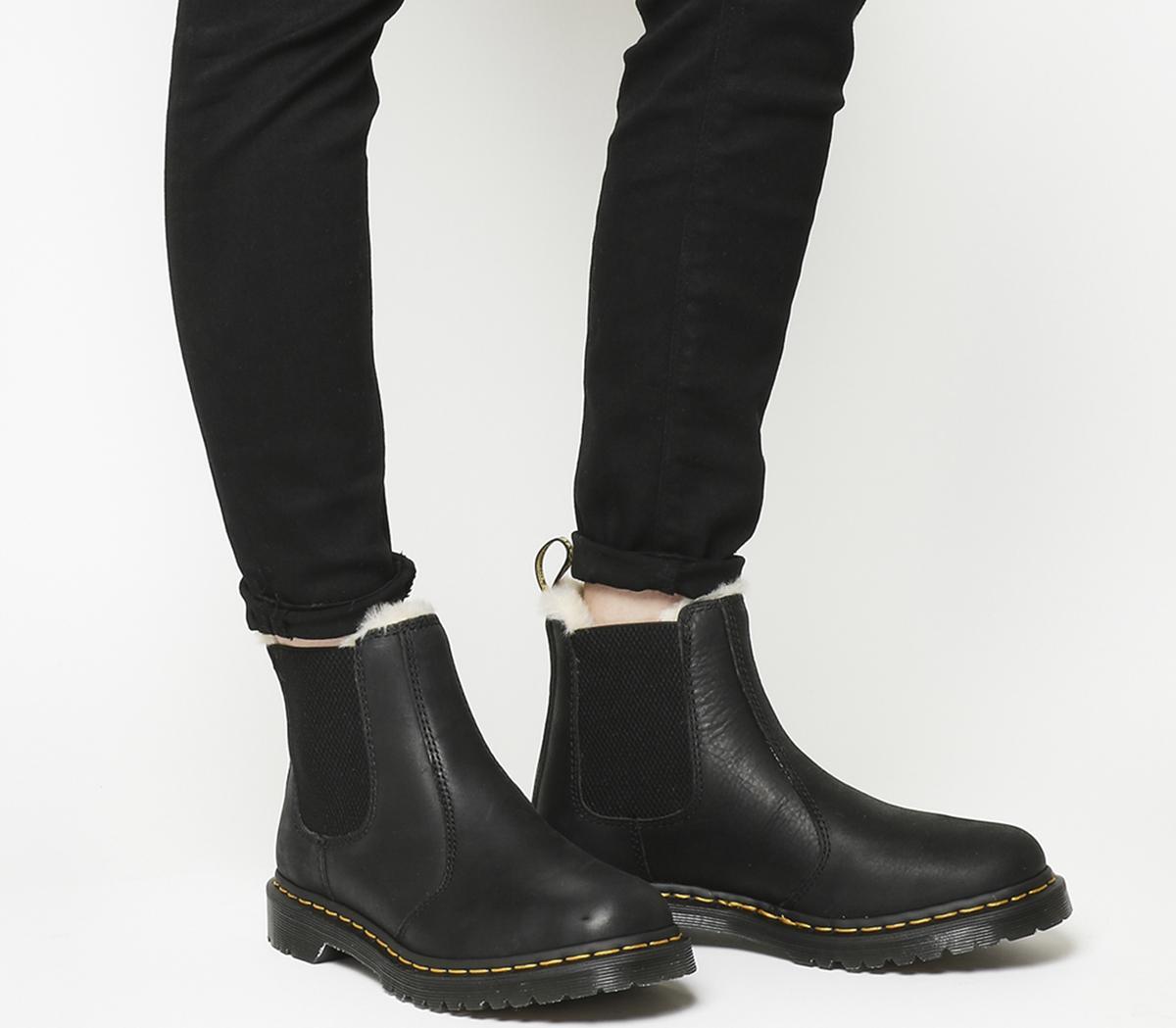 Dr. Martens Leonore Boots Black