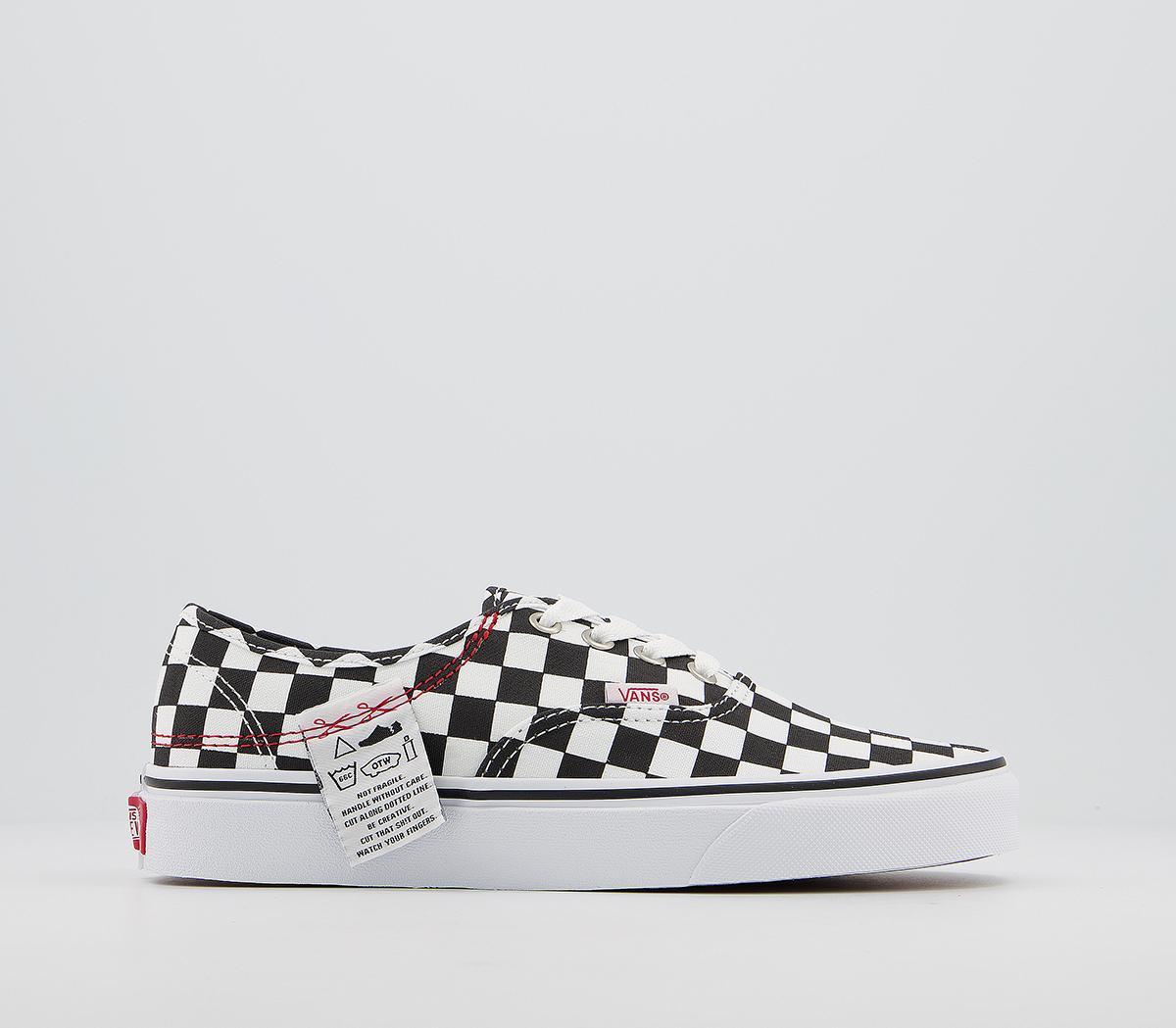 Vans Authentic Diy Checkerboard True