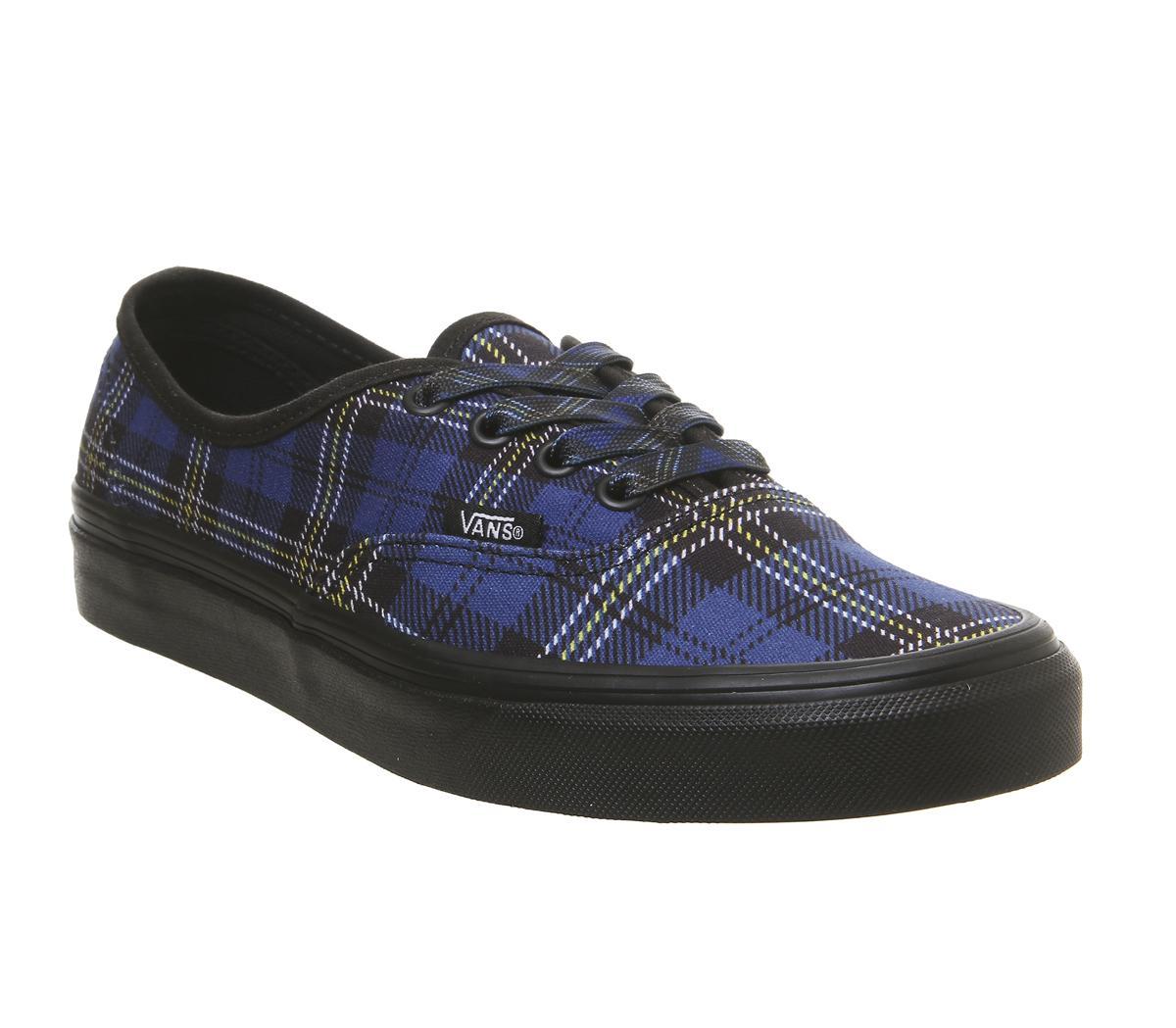Vans Authentic Trainers True Blue Black