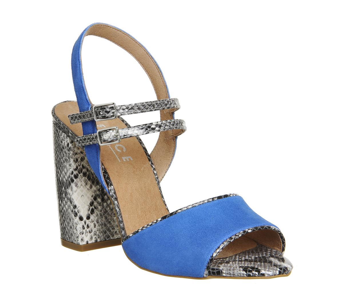 Absinthe Double Strap Heels