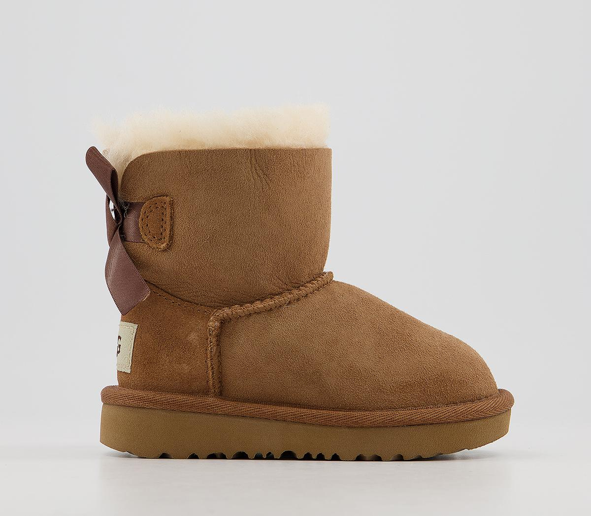 Bailey Bow Infant Boots