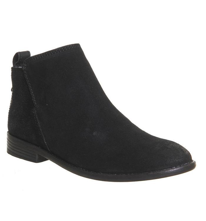 H by Hudson Hudson London Revelin Boot BLACK SUEDE