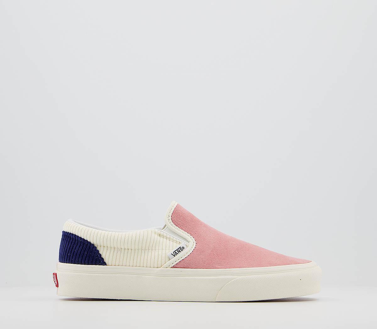 Vans Vans Classic Slip Ons Pink Icing