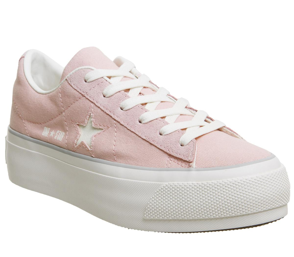 Converse All Star Low Platform Pink