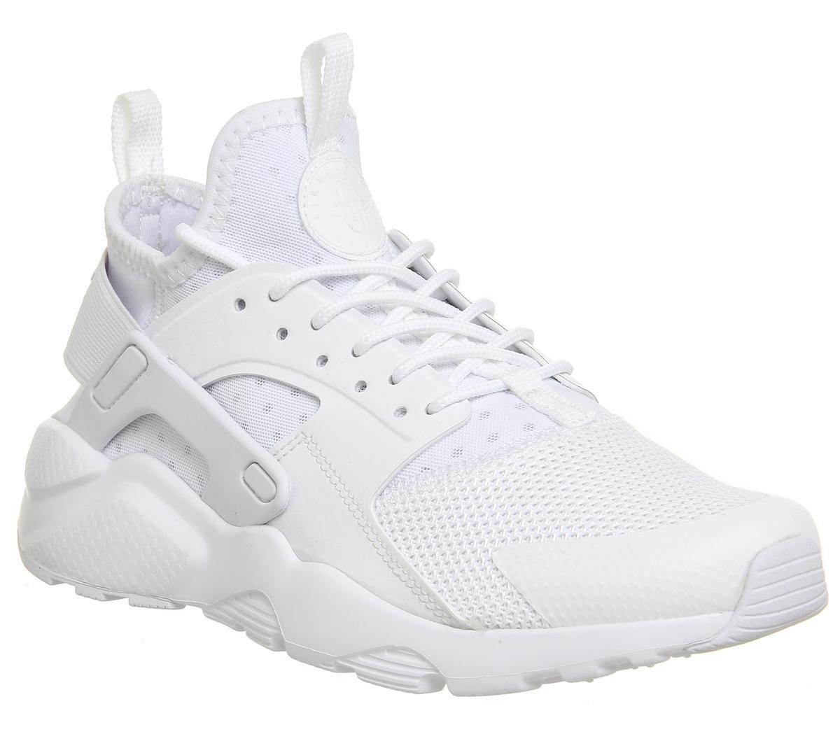 edificio Adelaide antibiotici  Nike Huarache Ultra Trainers White White White - Hers trainers