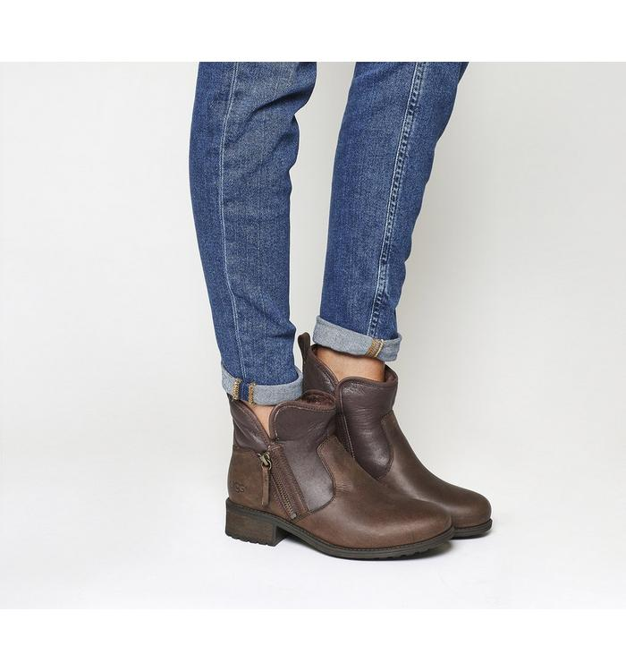 UGG Australia UGG Lavelle Zip Boot STOUT LEATHER