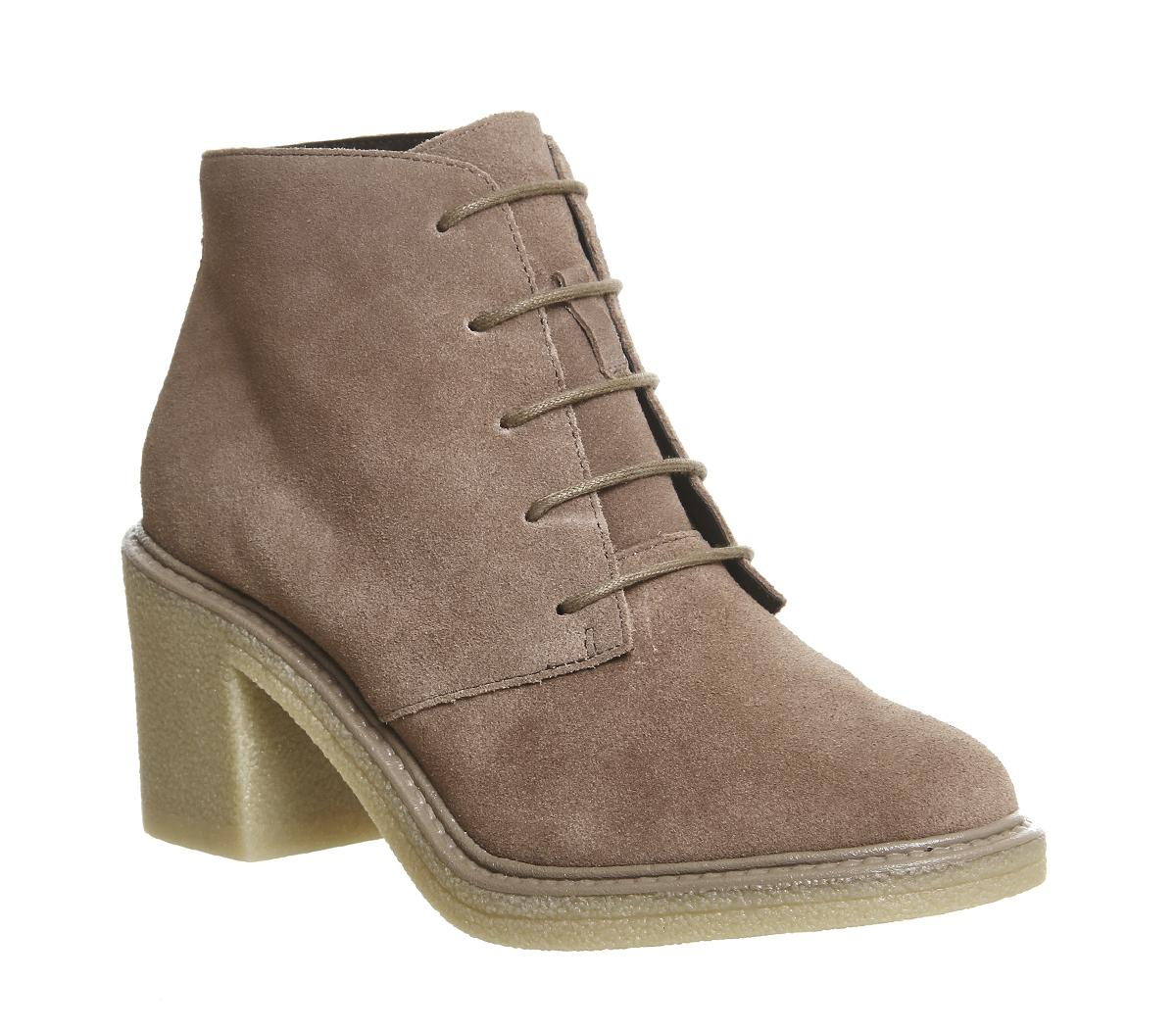 Lulu Lace Up Ankle Boots