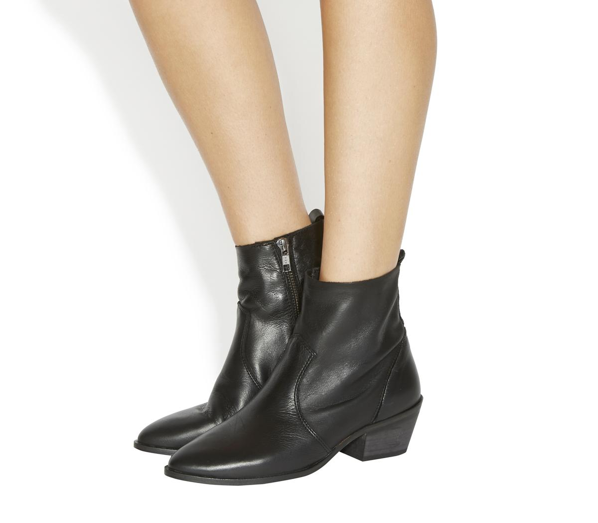 Leighton Unlined Western Boots