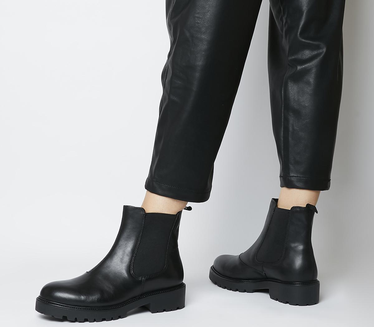 Vagabond Kenova Chelsea Boots Black