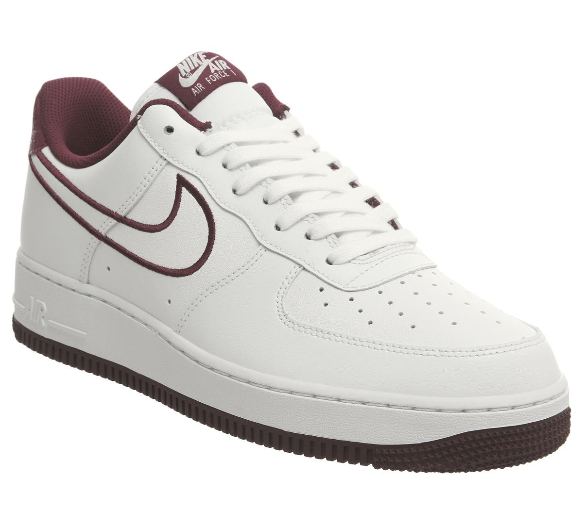 Nike Air Force 1 07 Trainers White Team