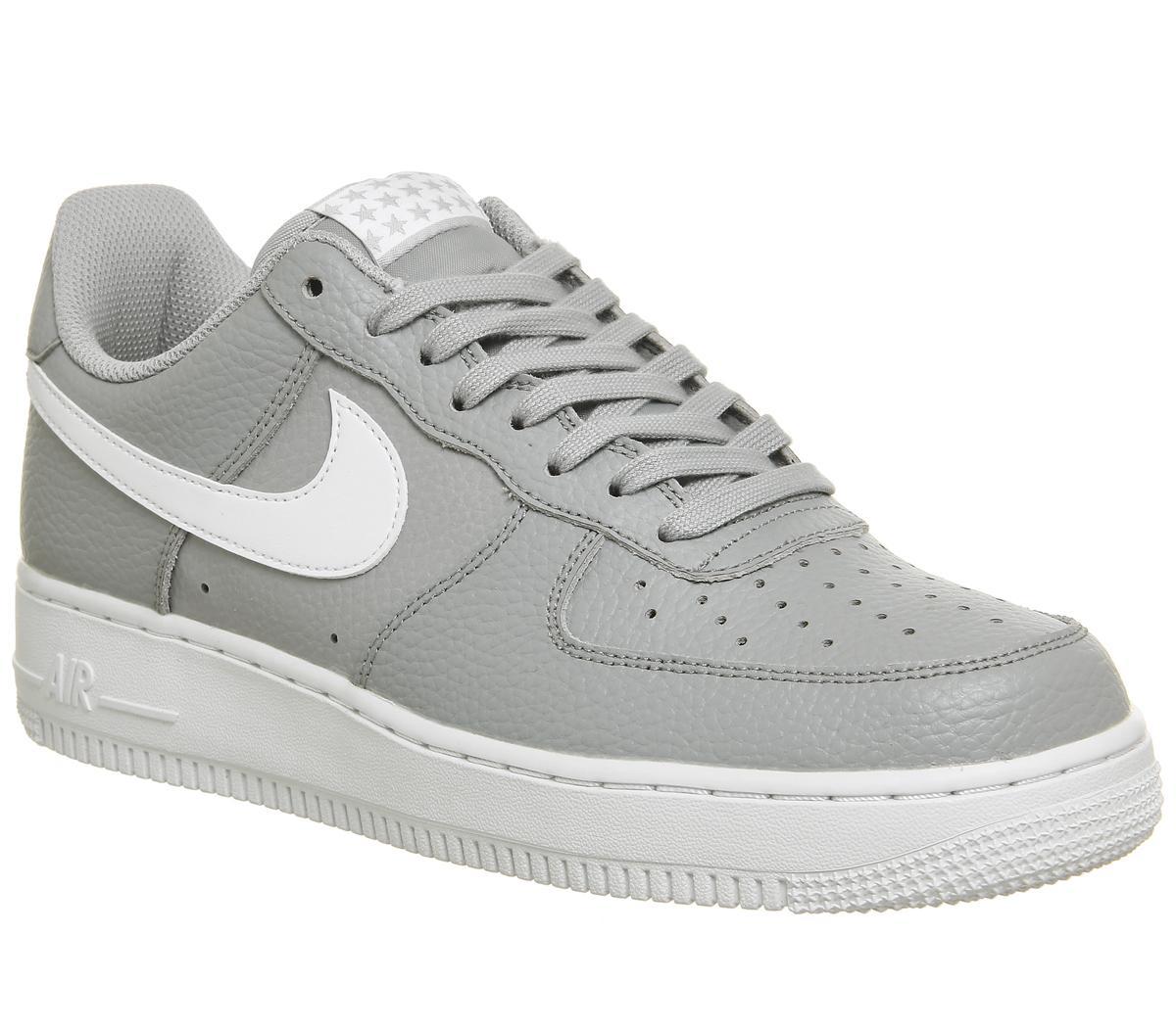 nike air force 1 07 grey