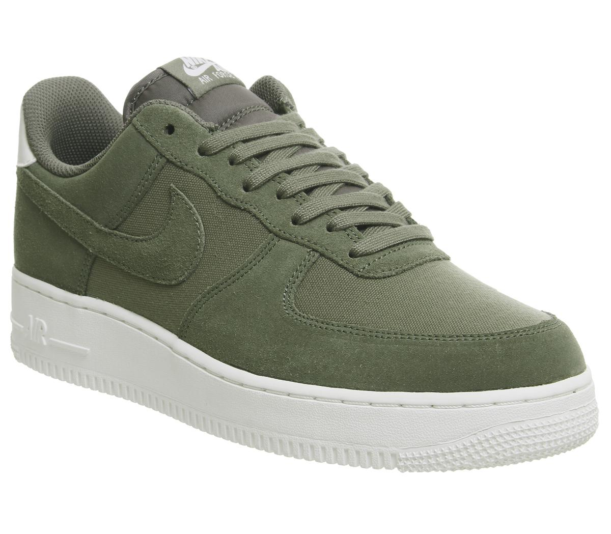 laringe Muchos Salida  Nike Air Force 1 07 Trainers Medium Olive Sail - His trainers