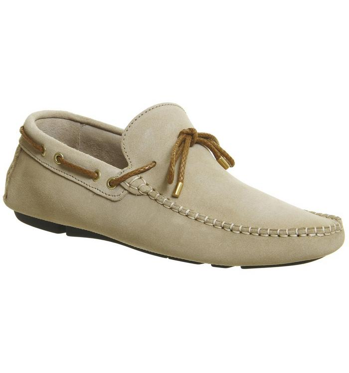 Ask the Missus Office Bounty Driver BEIGE SUEDE