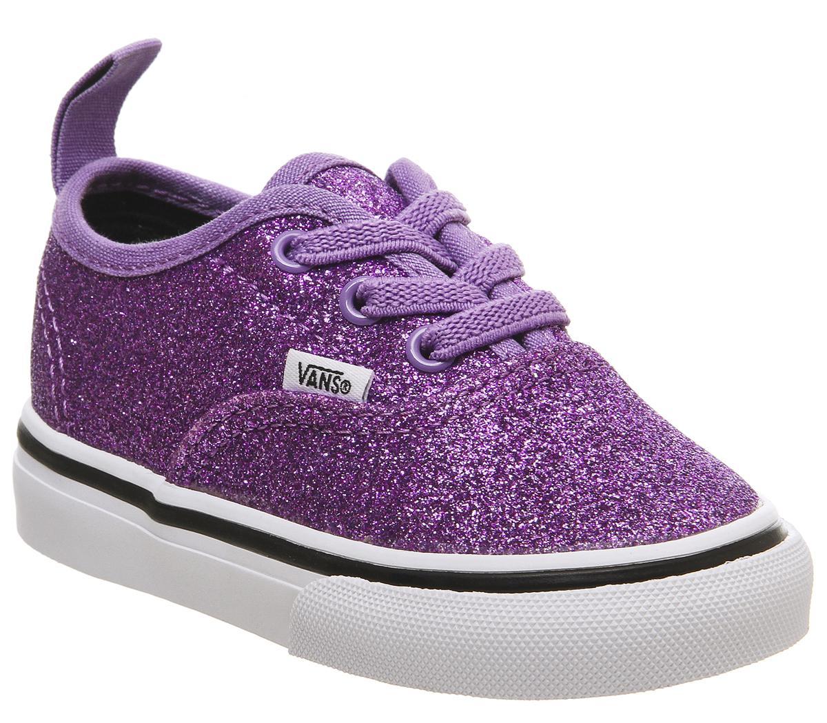 vans purple sparkle