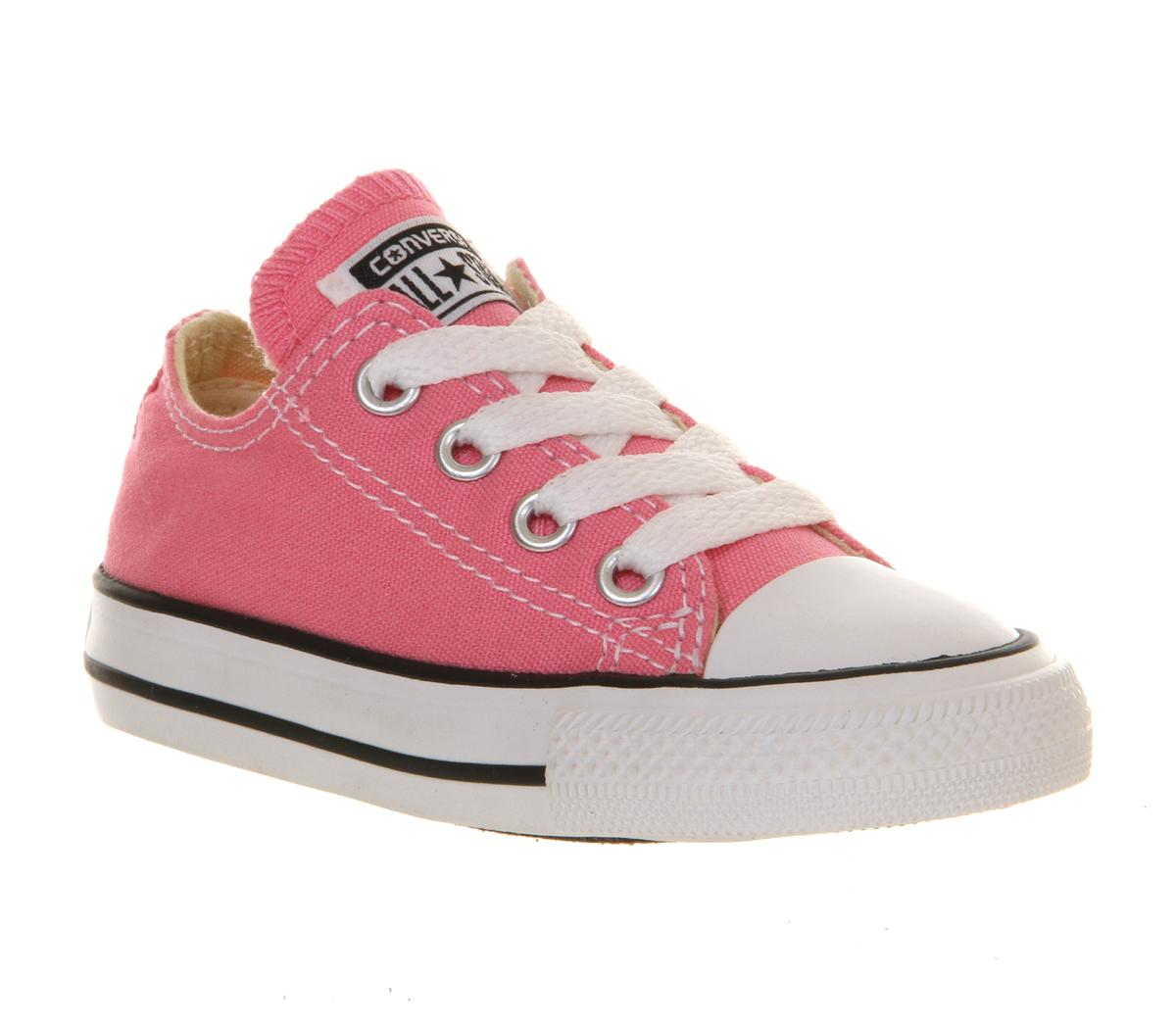 Converse All Star Low Infant Shoes Pink