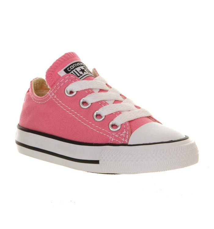 Image of Converse All Star Low Infant Shoes PINK