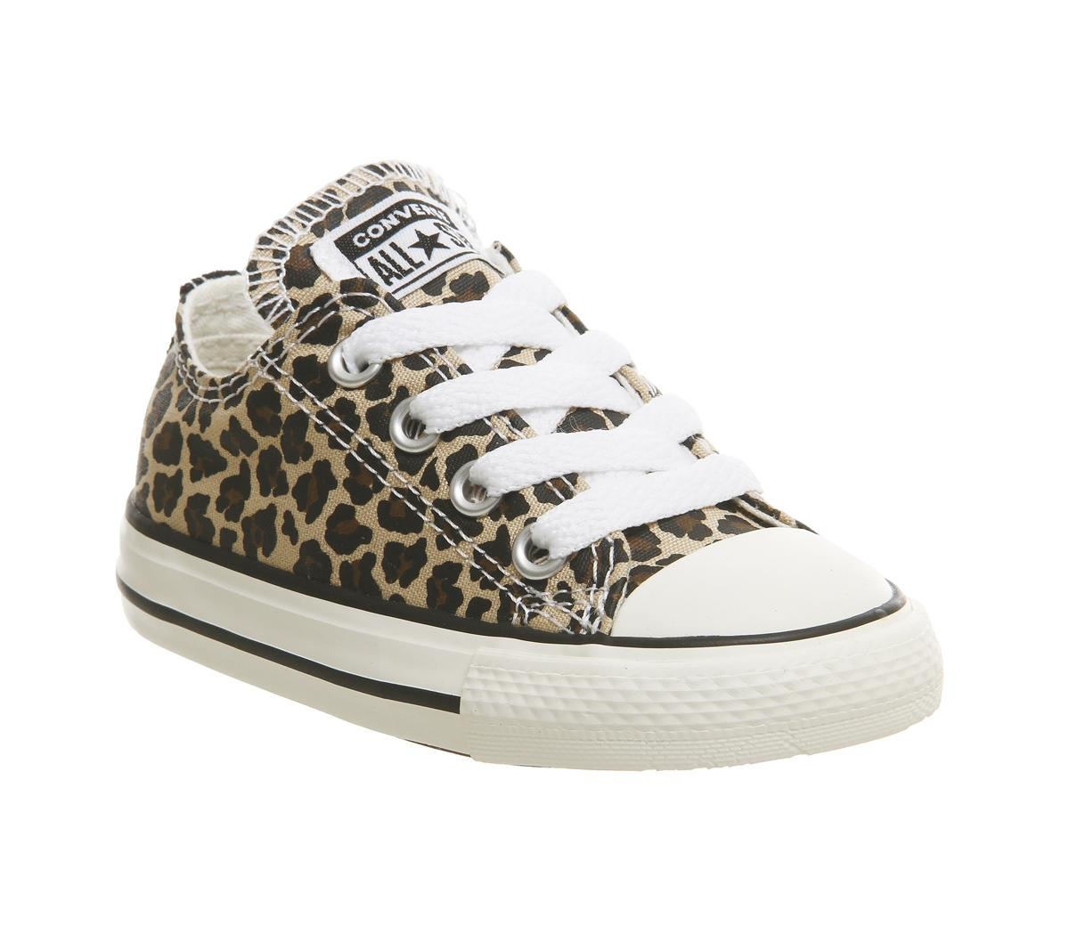 leopard print converse kids