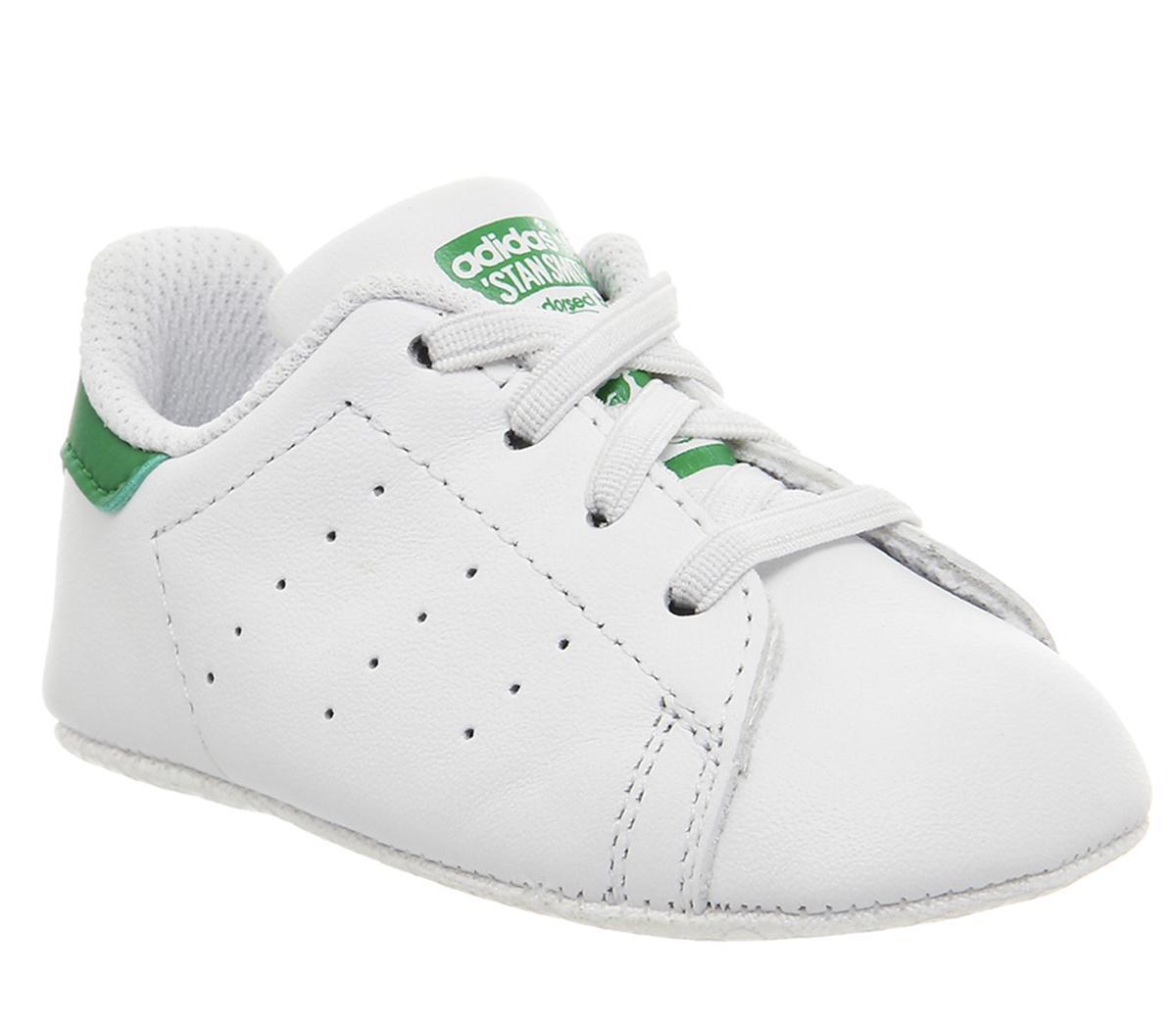 adidas Stan Smith Crib White White