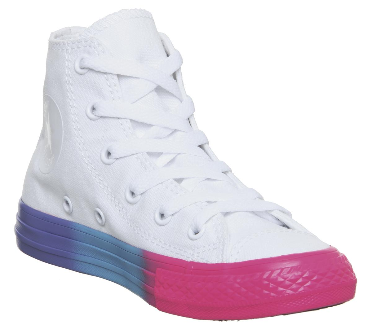 All Star Hi Mid Sizes Trainers