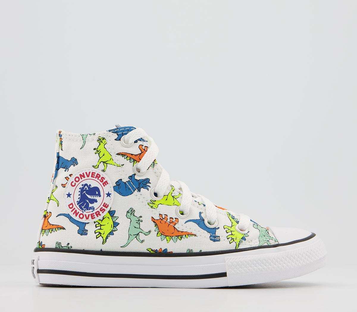 Converse All Star Hi Mid Trainers White