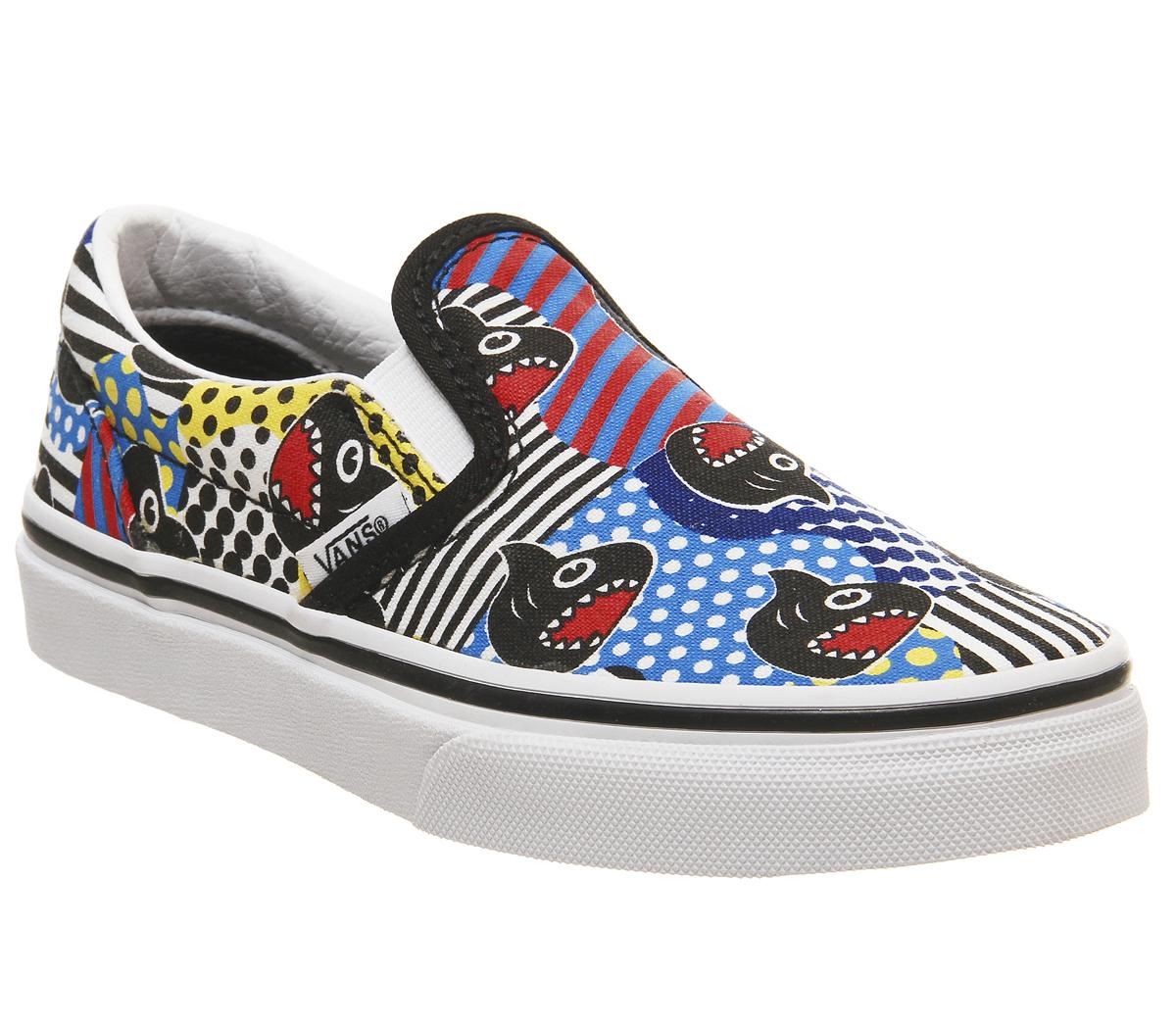 Vans Kids X Marvel Classic Slip On Skate Shoe