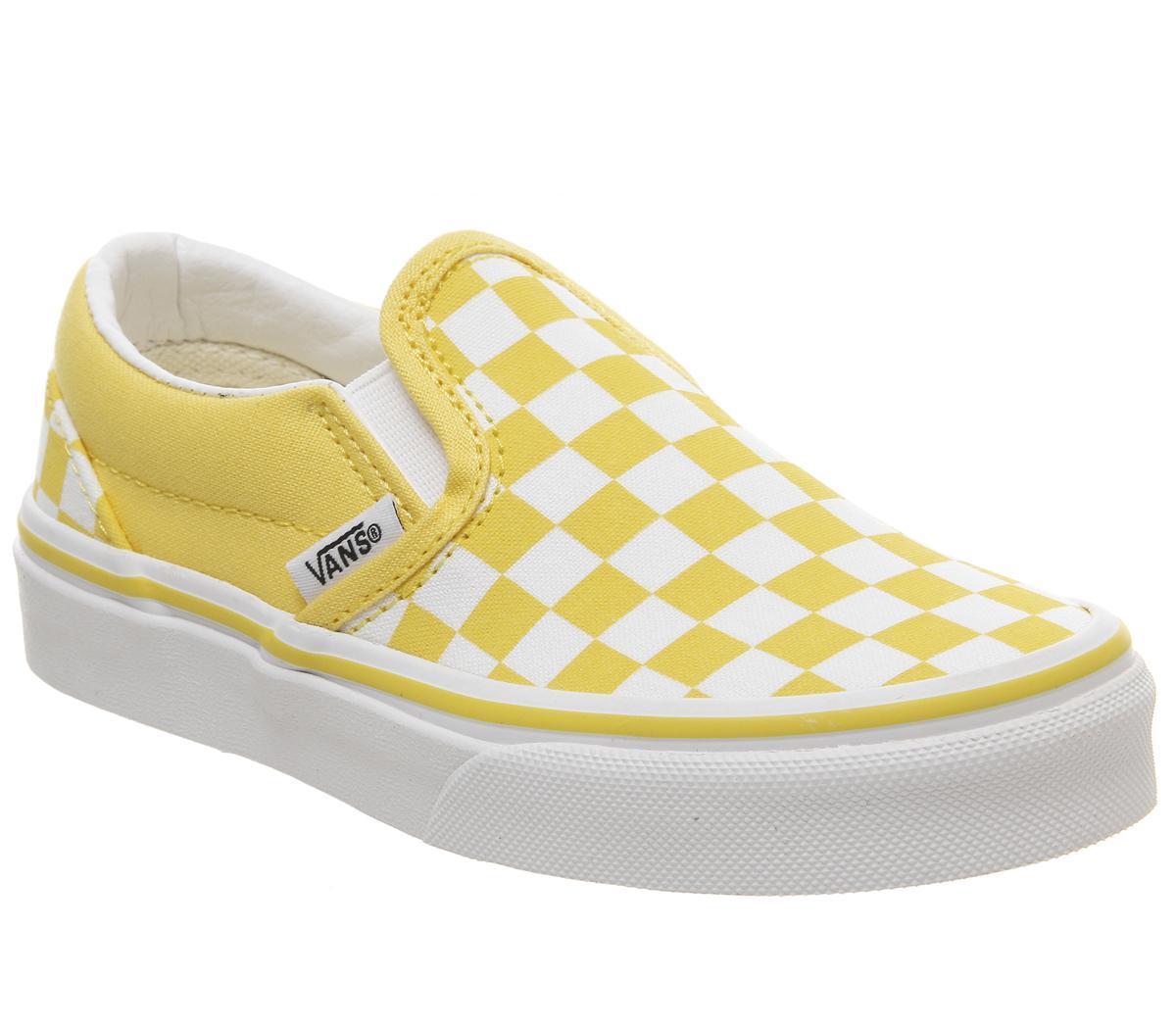 Vans Classic Slip On Kids Aspen Gold