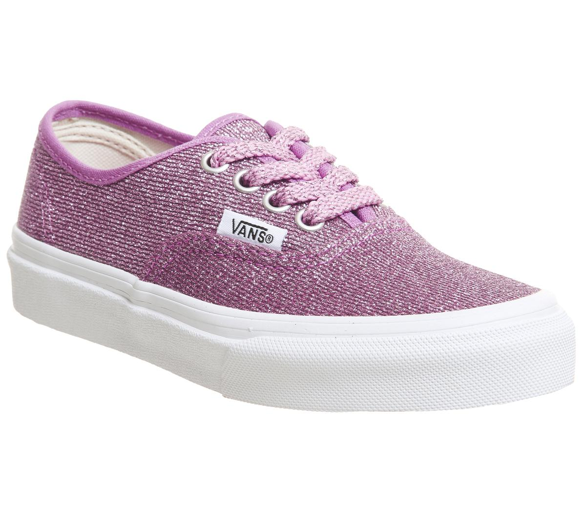 Vans Authentic Kids Trainers Pink True