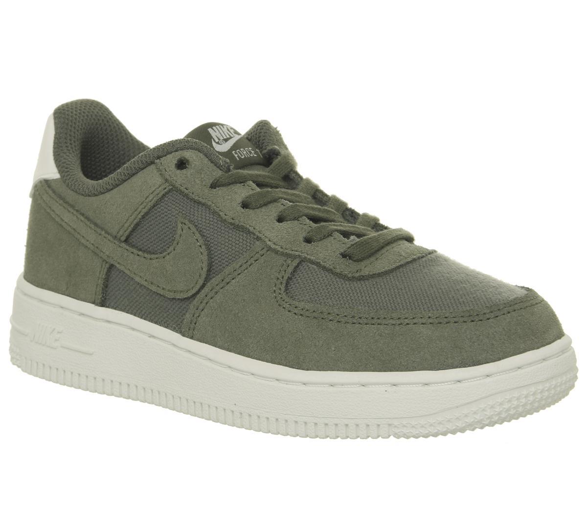 Nike Air Force 1 Ps Trainers Khaki