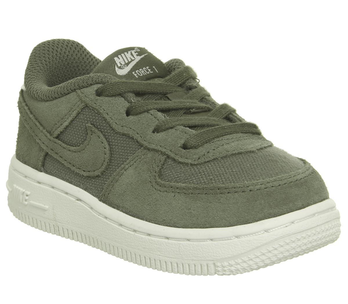 Nike Air Force 1 Infant Trainers Khaki