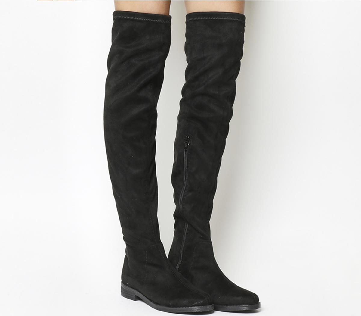 Kung Fu Over The Knee Boots