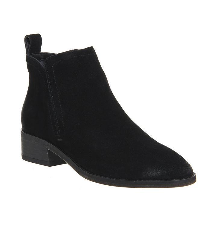 Dolce Vita Dolce Vita Tessey Low Boot BLACK SUEDE