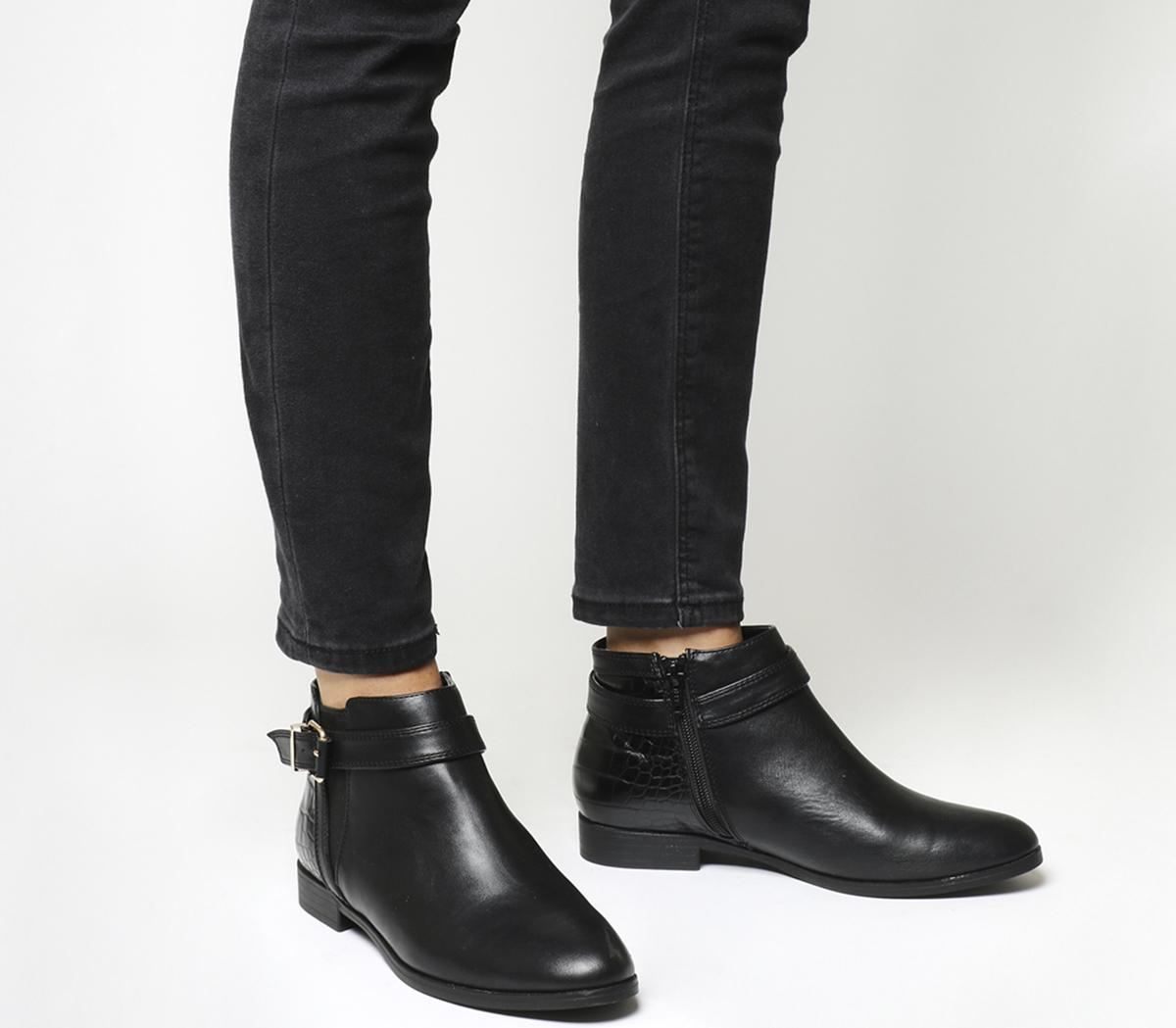 Laurie Smart Buckle Boots