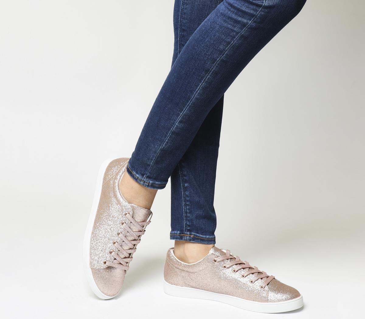 Penelope Lace Up Trainers