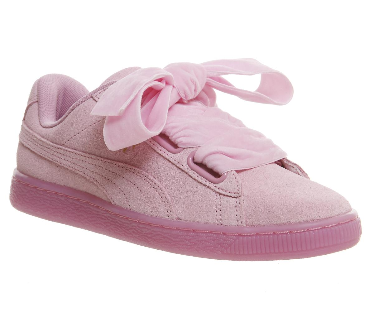 Puma Suede Heart Prism Pink - Hers trainers