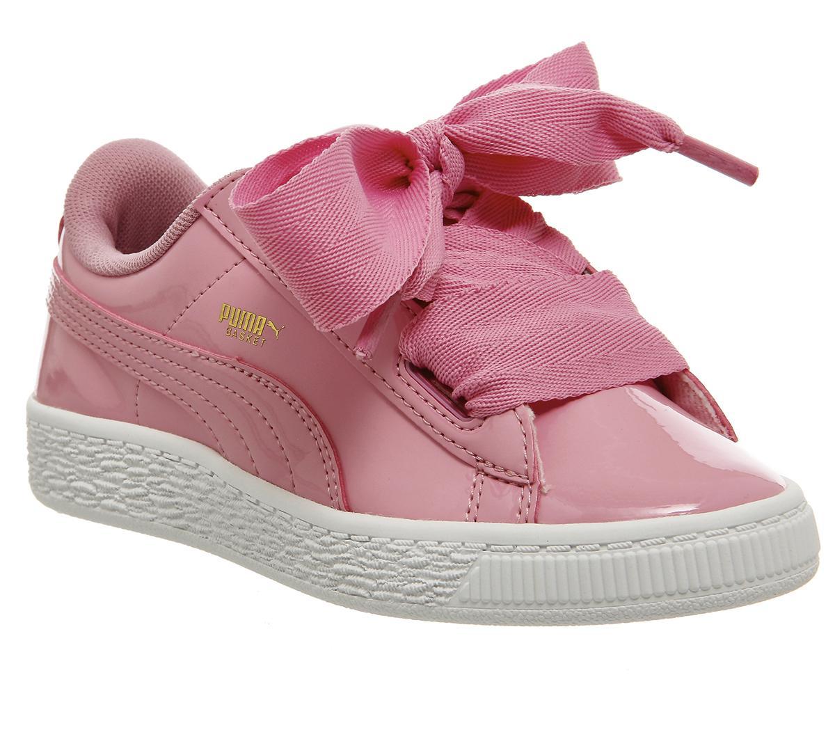Puma Basket Heart Ps Prism Pink Patent