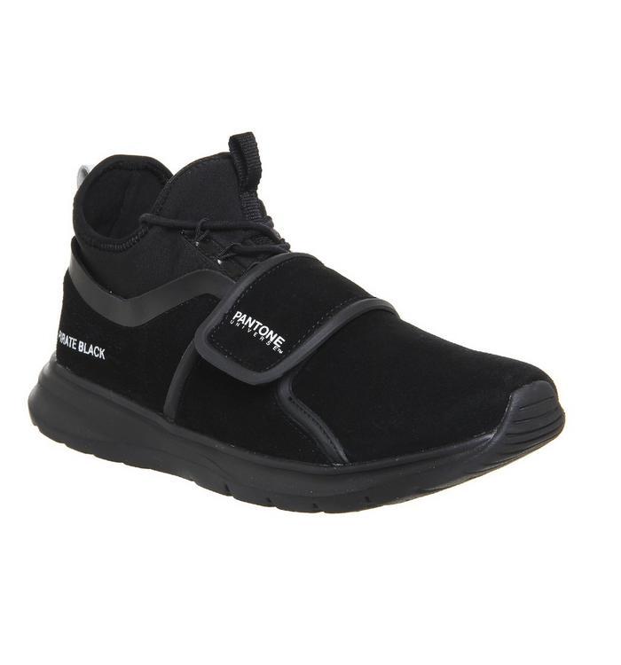 Pantone Pantone Milan Sneaker PIRATE BLACK SUEDE