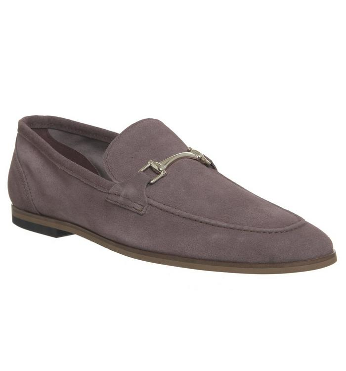 Ask the Missus Ask the Missus  Eugenie Snaffle Loafer GRAPE SUEDE