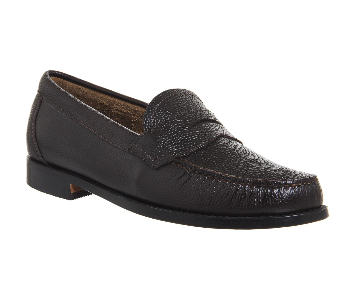 Weejun Logan Grain Penny Loafers
