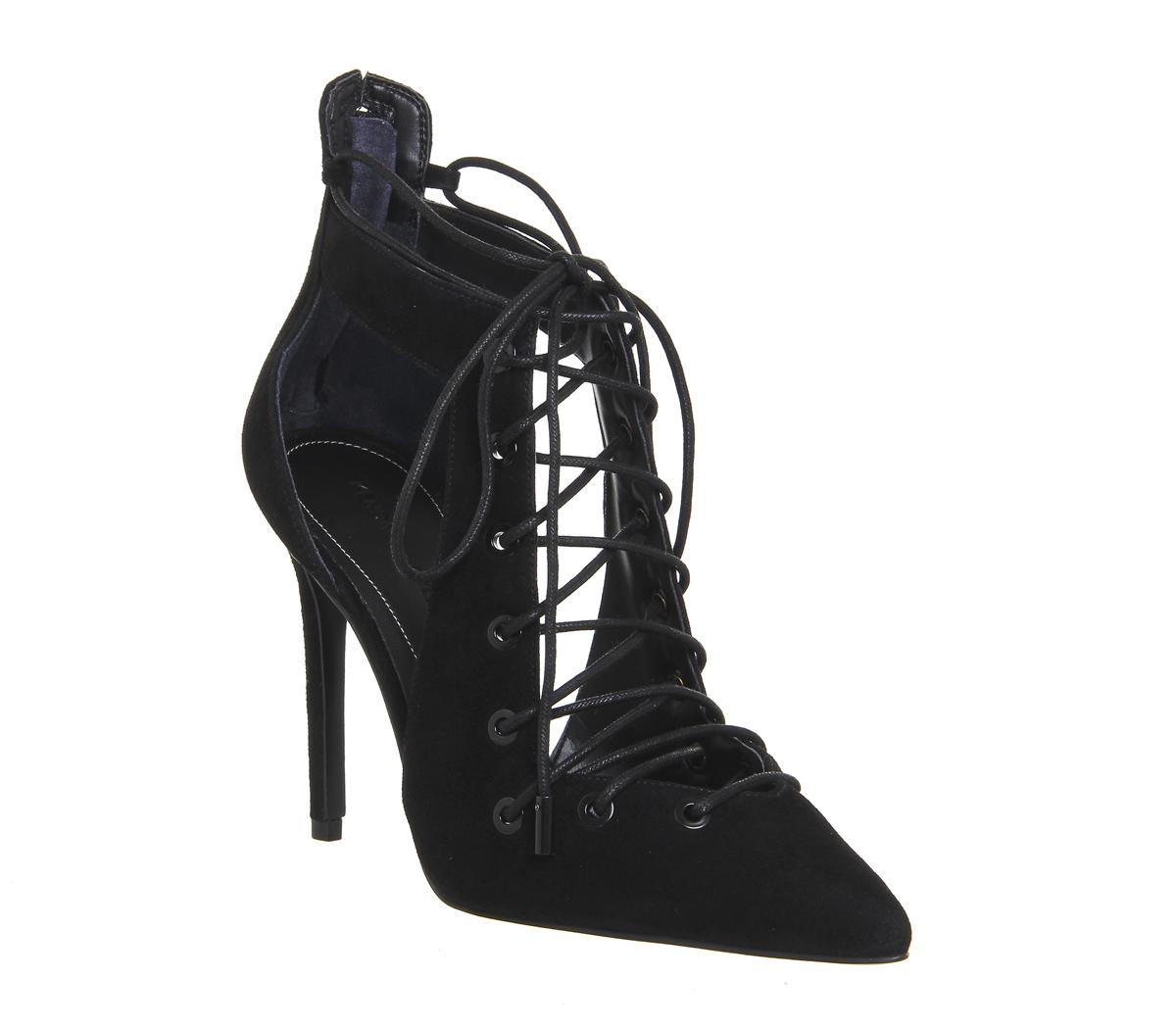 Angel Lace Up Heels