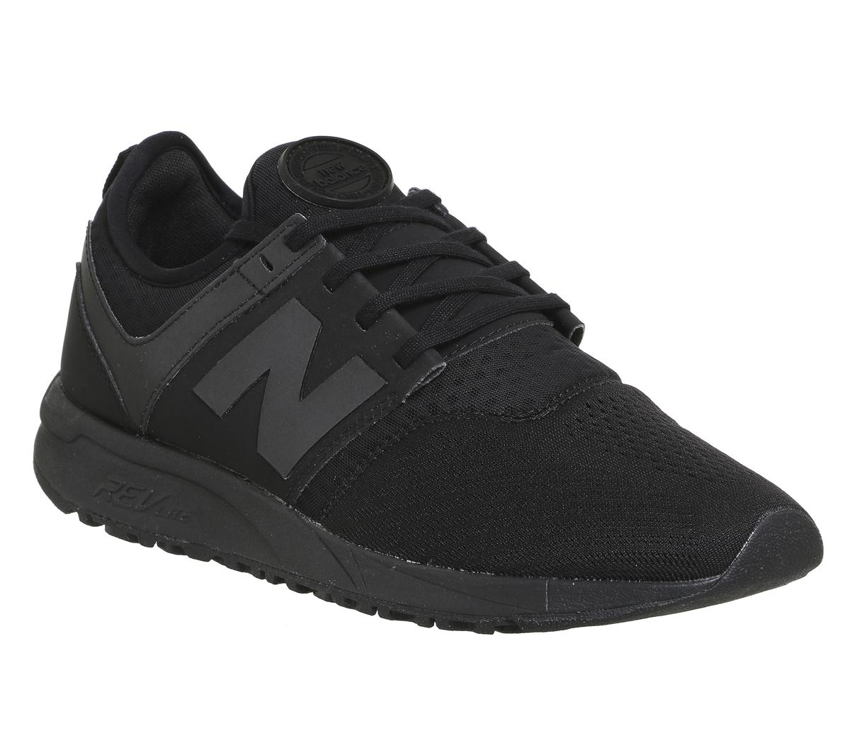 new balance 247 all black