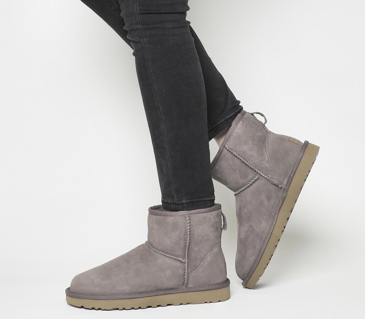 UGG Classic Mini II Boots Stormy Grey