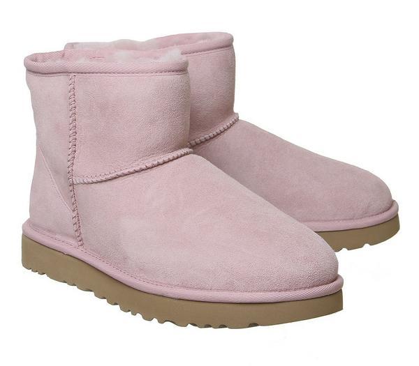 UGG Classic Mini II Boots Pink Crystal - Ankle Boots 9u940c4