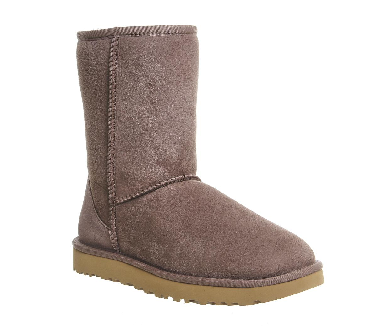 UGG Classic Short II Boots Stormy Grey
