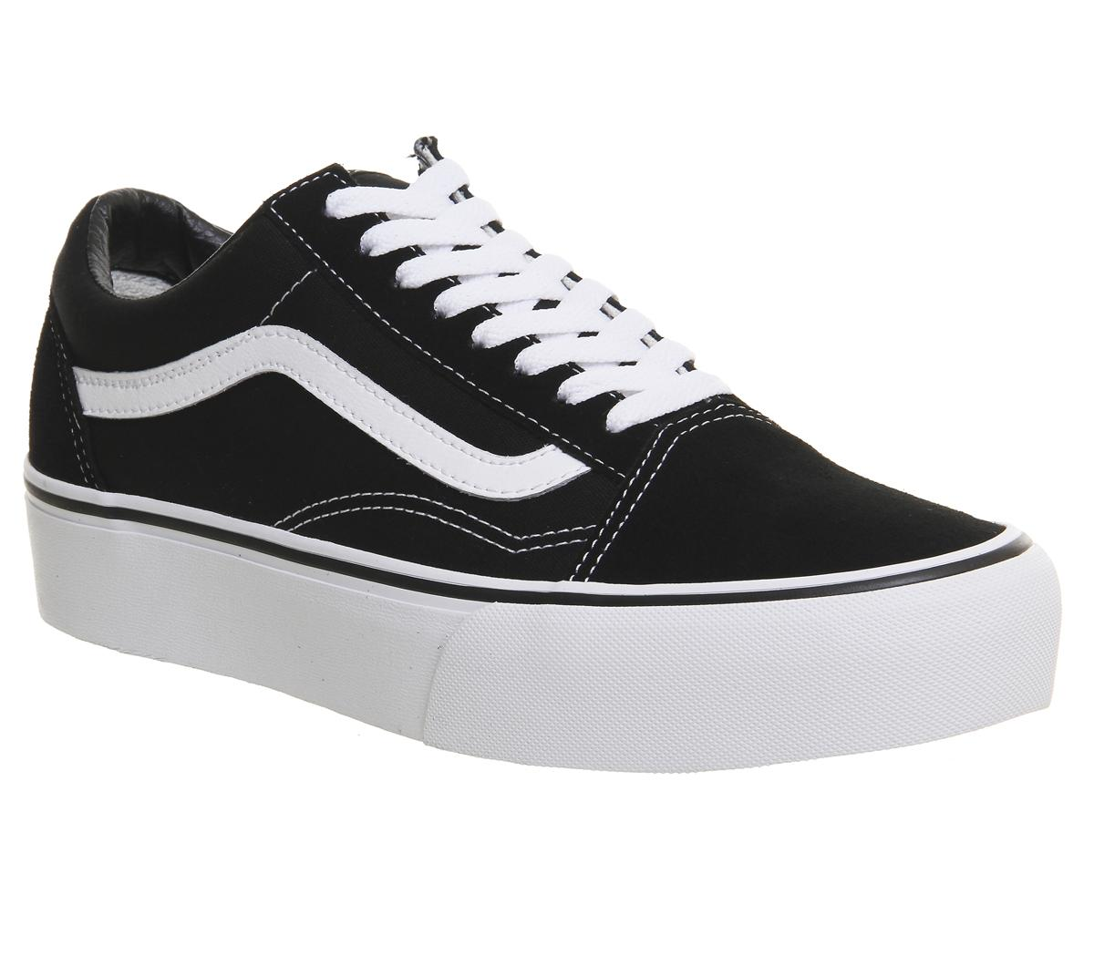 vans platform old skool womens