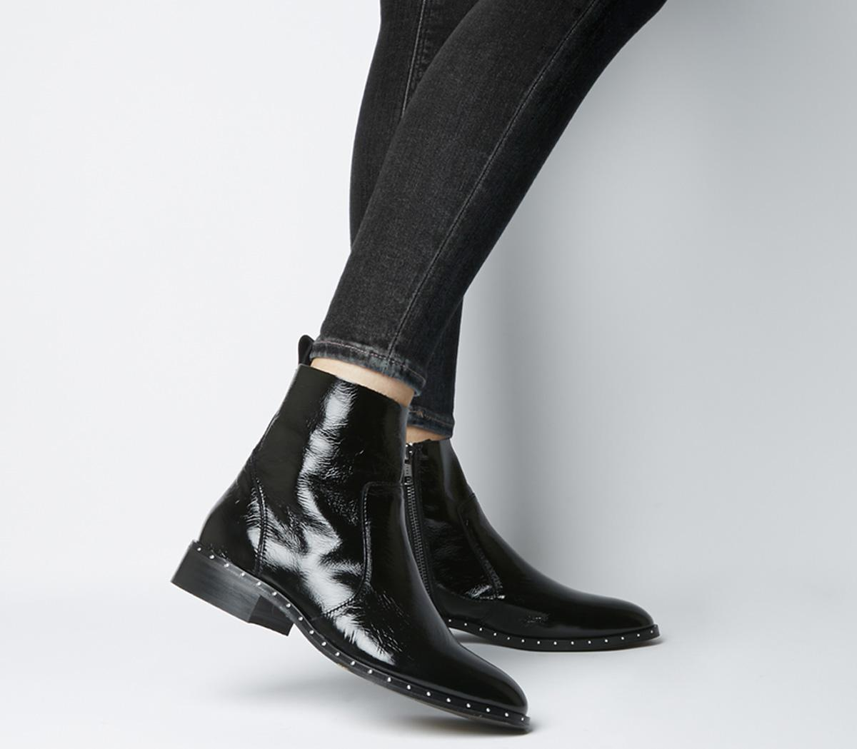 Ashleigh Flat Ankle Boots