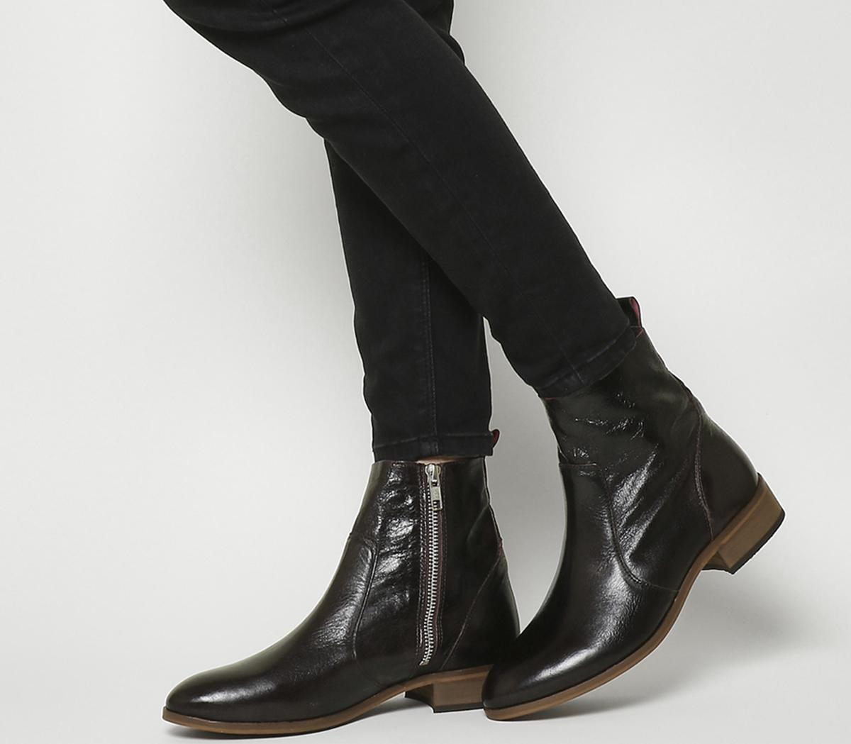 Office Ashleigh Flat Ankle Boots