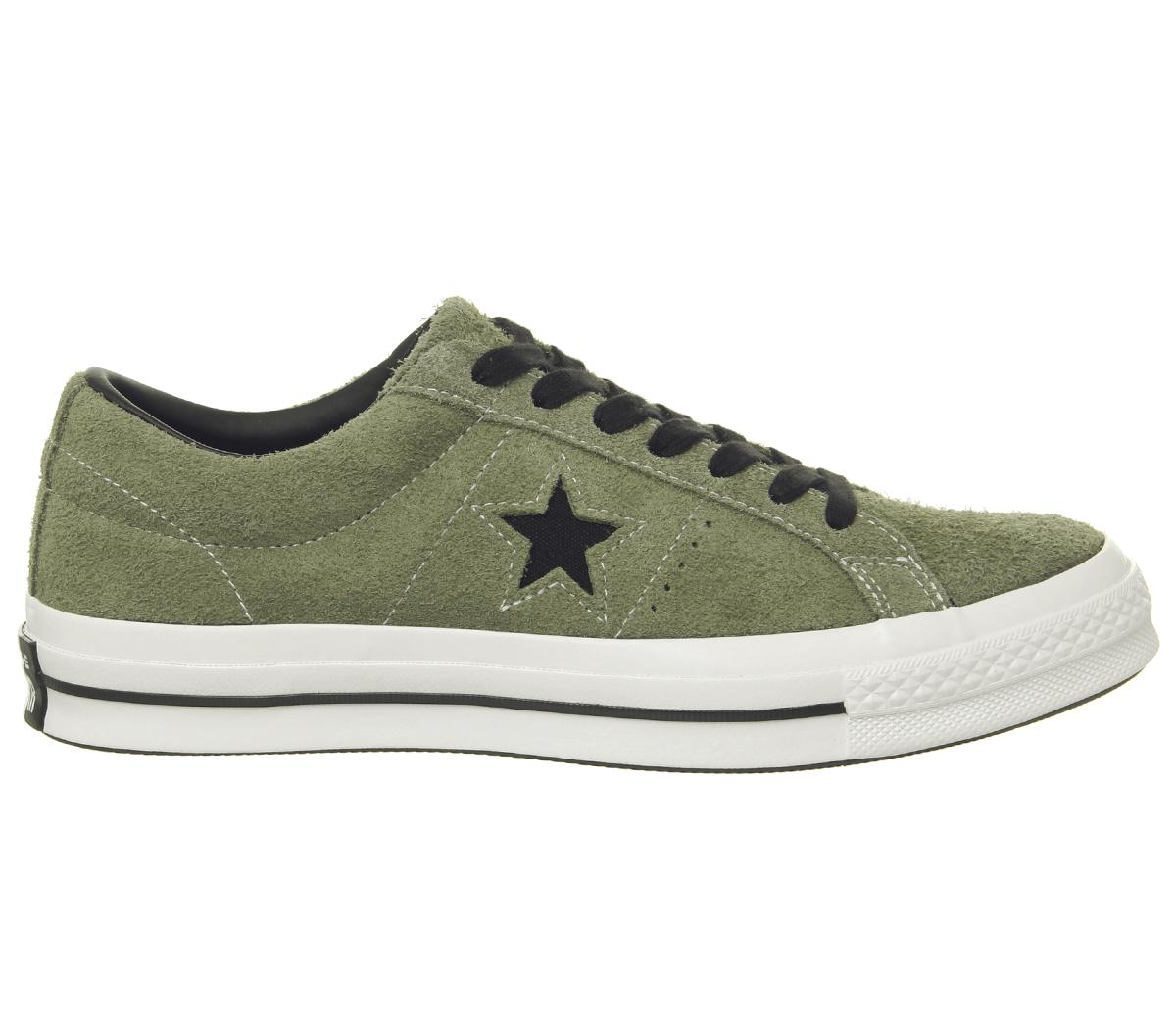Converse Cons - One Star Pro OX Shoes - Black / White