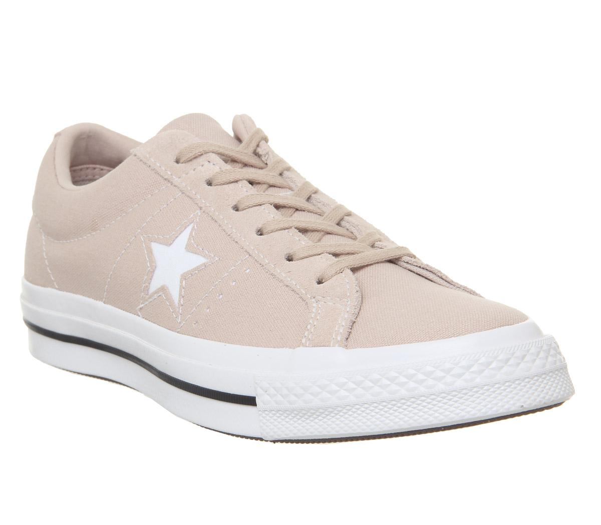 Converse One Star Trainers Particle