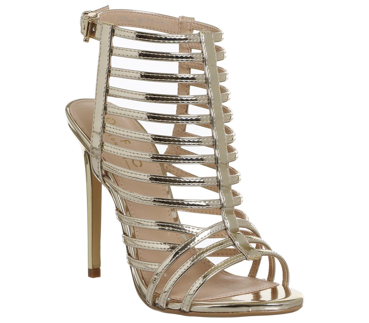 Harlem Strappy Cage Heels