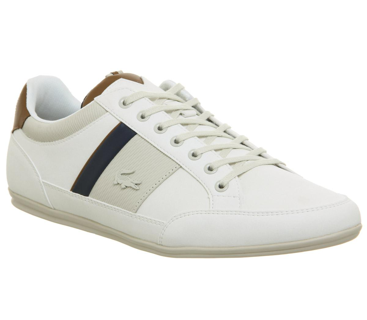 Lacoste Chaymon Trainers Off White